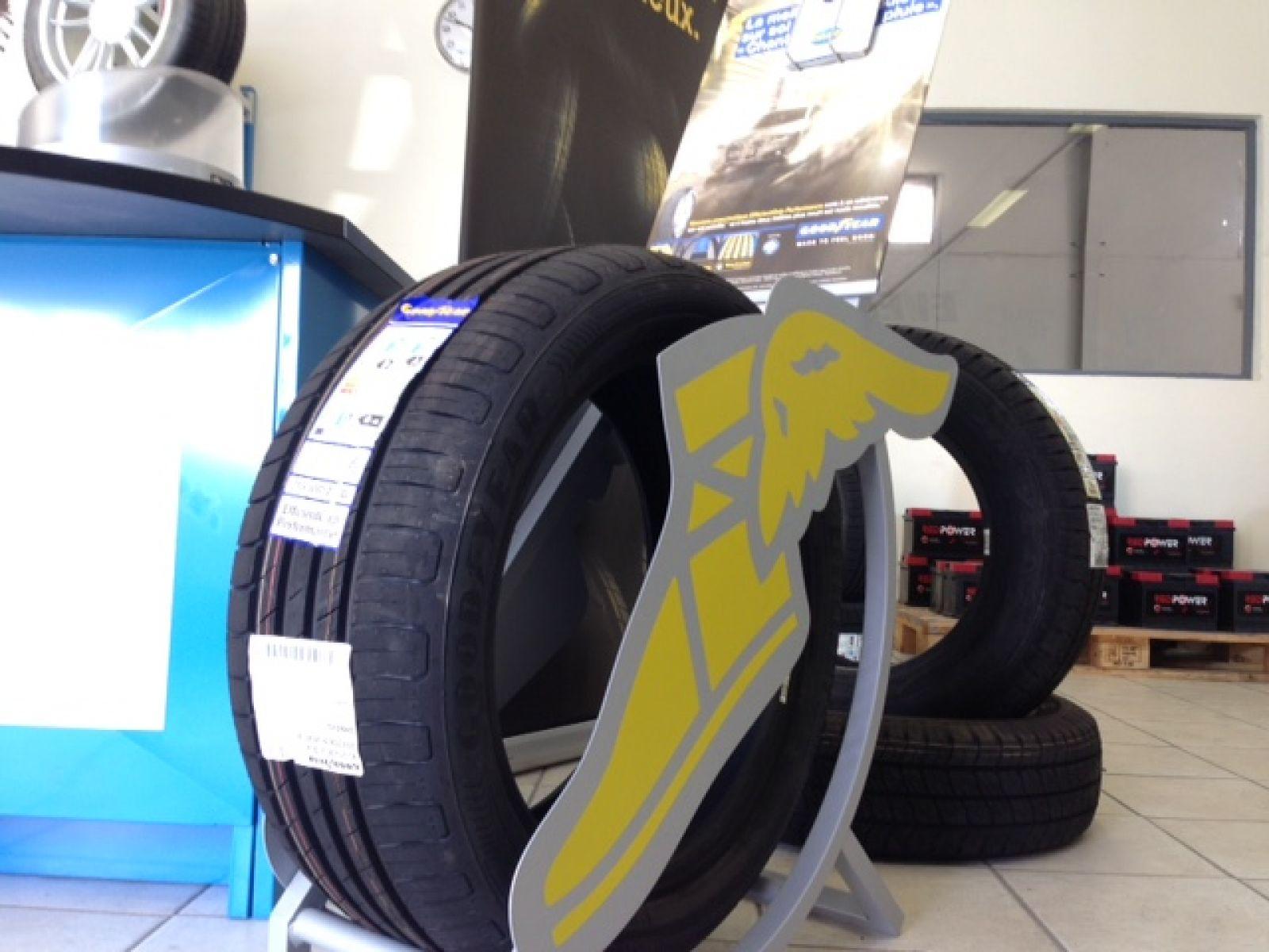 Vente et pose de pneus la valette du var garage et for Garage pose pneu
